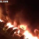 Paris : Des migrants auraient mis le feu à des voitures