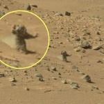 Science et vie : La photo d'un martien figé sur la planète Mars ?
