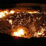 Environnement  : Aller à la porte de l'enfer !