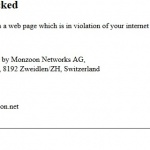 Zone wifi gratuite de la ville de Genève le site Finalscape censuré.