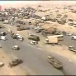 Il faut savoir à défaut de se le rappeler : Irak, 80 kilomètres jonchés de carcasses de voitures et de cadavres