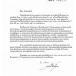 L'image du jour : Lettre de François Hollande à Emmanuel Macron