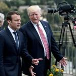 Géopolitique : Macron et Trump prêts à travailler à une «réponse commune» en cas d'attaque chimique en Syrie