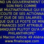 France : Sous Macron, le pays sera gouverné comme une mission de management