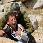 Palestine : L'ONG israélienne B'Tselem בצלם vient de publier cette vidéo montrant l'arrestation brutale d'enfants palestiniens par des soldats israéliens.