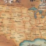 Histoire : USA, Cette carte des tribus indiennes est absente des livres d'histoire