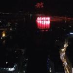 Suisse : Le grand feu des Fêtes de Genève vu du ciel