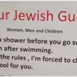 Antisémitisme : Monstre bourde de la part d'un hôtel suisse
