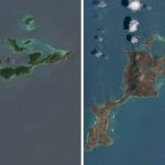 Climat : Images impressionnantes des îles vertes britanniques et de la Floride après le passage de l'ouragan Irma
