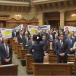 Suisse : L'UDC marque les 25 ans du non à l'EEE en manifestant au National