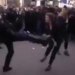 France : Images impressionnantes de violences policières lors de manifestations