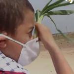 Palestine, Science & Vie : Un petit Gazaoui met au point son propre masque à gaz