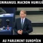 Bruxelles : macron se fait humilier comme jamais devant les députés