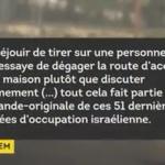 Palestine : Quand des soldats israéliens se réjouissent d'avoir tiré sur un manifestant palestinien