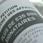 Loi secret des affaires : Pour préserver la démocratie, signez la pétition