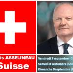 Politique : François Asselineau sera à Genève le vendredi 7 septembre 2018