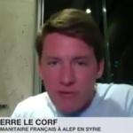 Syrie & Pierre le Corf : «Le gouvernement syrien n'a aucune raison d'utiliser l'arme chimique»