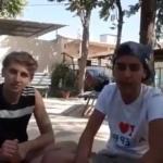 Syrie & Pierre le Corf : Avec des enfants à Alep