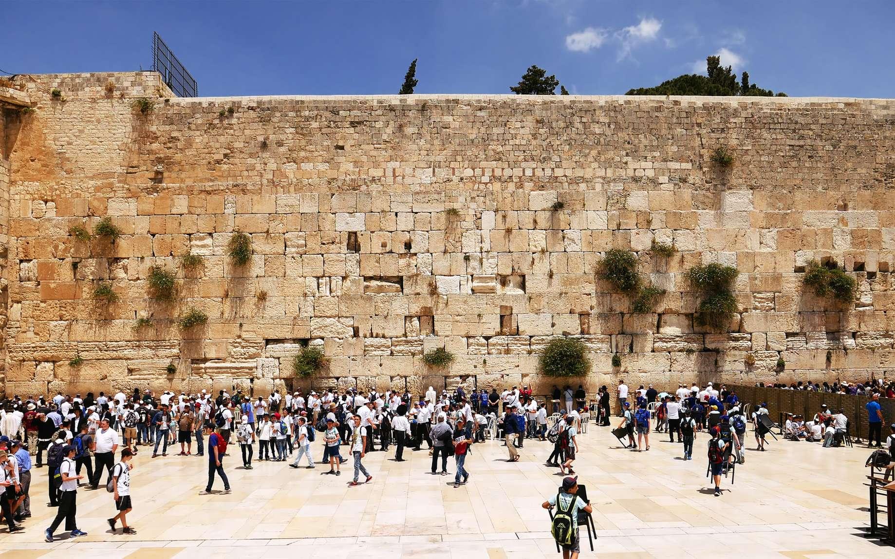 Histoire Le Mur Des Lamentations Serait Le Reste D Un Vestige