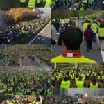 """L'image du jour : Selon des statistiques gouvernementales le mouvement """"Gilets jaunes"""" aurait mobilisé 244'000 citoyens"""
