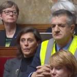 La vidéo du jour : Un gilet jaune à l'assemblée Nationale
