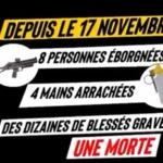 Gilets jaunes : Tout un arsenal contre une population désarmée