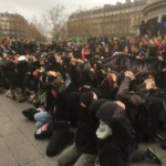 L'image du jour : Lycéens solidaires