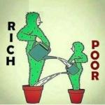 L'image du jour : Rich and poor