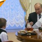 Vladimir Poutine, un président aimé par son peuple et qui a le cœur sur la main