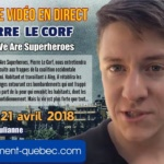"Syrie et Pierre Le Corf : Soutient à l'association ""We are Superheroes"""