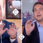 """Politique & médias : Nicolas Dupont-Aignan s'en prend à l'équipe de """"C à vous"""" et doit quitter le plateau"""