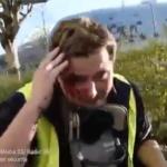 Gilets jaunes : polémique autour d'une vidéo montrant un gilet jaune matraqué par un policier
