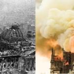 Incendies de Notre-Dame de Paris et du Reichstag, étranges similitudes de l'agenda politique