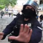 «Inacceptable» : Moscou condamne le matraquage d'un journaliste de RT France par un policier