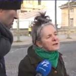 Gilets jaunes : La mamie dont le cœur est Français.