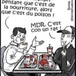 L'image du jour : Qu'y a-t-il de plus con qu'un rat qui mange du poison en croyant que c'est de la nourriture ?