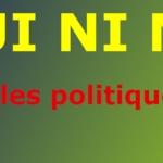 """La diplomatie et la politique sont championnes au jeu du """"Ni oui ni non"""""""