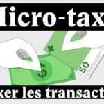 Suisse & Economie : Une micro-taxe pour remplacer la TVA et l'impôt fédéral direct (Vidéo)