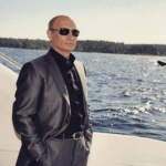 L'image du jour : Poutine, un homme qui n'a pas froid aux yeux