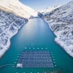 ENVIRONNEMENT : Le premier parc solaire flottant en milieu alpin mis en service en Valais
