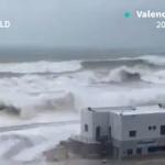 CLIMAT : Les images de la tempête Gloria qui arrive en France
