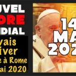"""Le pape François """"activera"""" le Nouvel Ordre Mondial le 14 mai 2020 ?"""