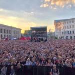 Didier Marouani lors de l'anniversaire de Kiev Town