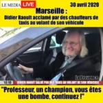 Coronavirus : Didier Raoult acclamé