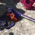Gilets jaunes : Ils brûlent le drapeau européen