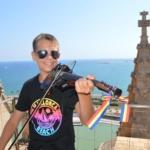 Rares Mihai Florescu : Un coup de violon en Espagne à Palma de Majorque