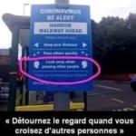 Distanciation sociale, cette image ne vous parle pas ? /  Social distancing, this image doesn't speak to you