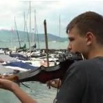 Rares Mihai Florescu : Au bord du lac à Annecy