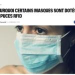 France : Un employé placé en garde à vue parce que il avait son masque 2 centimètres trop bas !