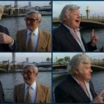 Culture & Cinéma :Quand Benny Hill rencontre sa voix française : Roger Carel, en 1991 / Culture & Cinema : Benny talks with his French Voice Dubber Roger Carel (1991)